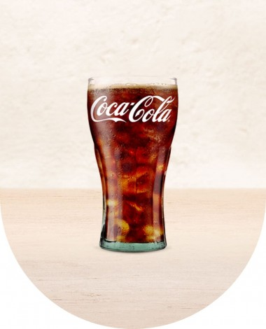Burger With Cocacola